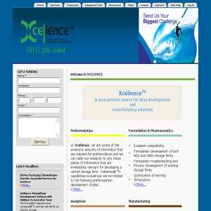 Formulation Development at Xcelience