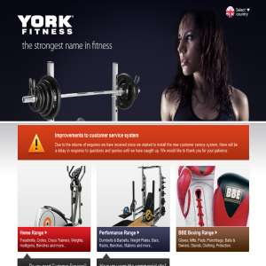 York Fitness Equipment