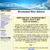 Herniated Disc Advice at herniated-disc-advice.com