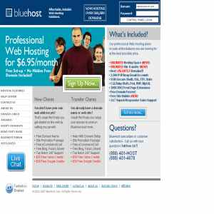 Bluehost - Web hosting Solution
