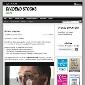 Dividend Investment