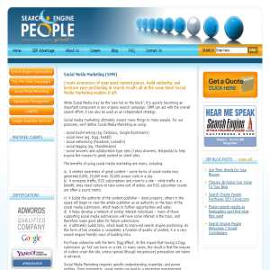 Social Media Marketing - Search Engine People