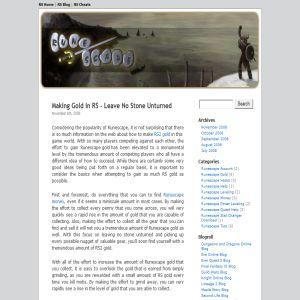 Runescape Blog
