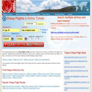 Canuck Abroad - Air Tickets & Flights
