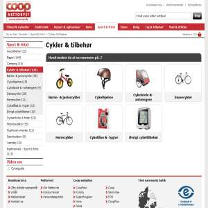 Køb cykel online