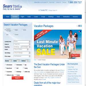 Sears - Vacation Packages