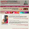 Santa Stocking personalise Christmas Stockings