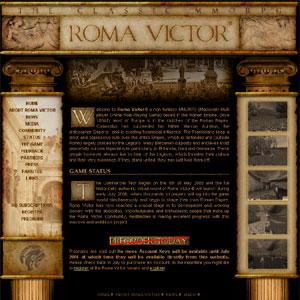 Roma Victor | non-fantasy MMORPG