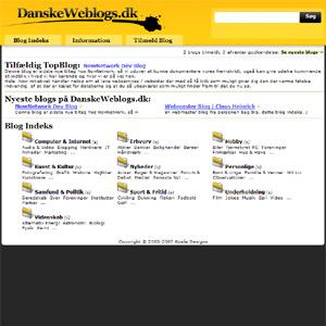 DanskeWeblogs.dk | Danish Blogs Directory
