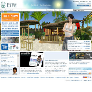 Second Life | Virtual 3D World