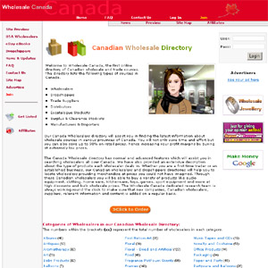 Canadian Wholesalers & Dropshippers Directory