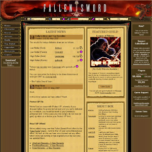 Fallen Sword | Browser based online adventure