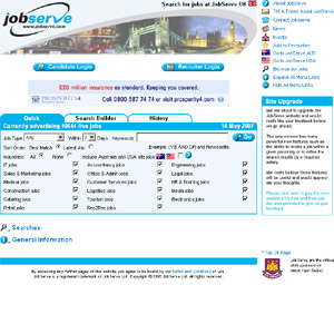 JobServe - Search for jobs