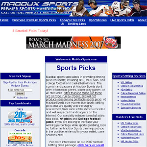 Madduxs Football Picks