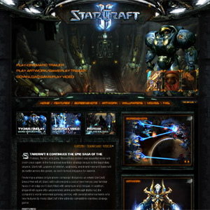 Starcraft II Unveiled Official Site