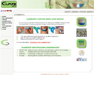 Dental mouthguards at GuardKit