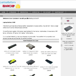 Cheap Laptop Battery Shop