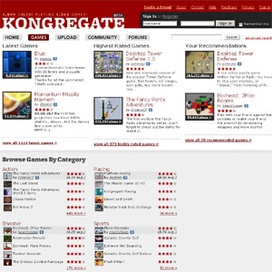 Kongregate | Gaming Community