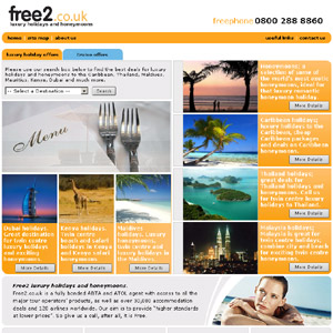 Free2 luxury holidays & honeymoons