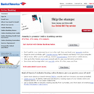 Online Banking Services from Bank of America