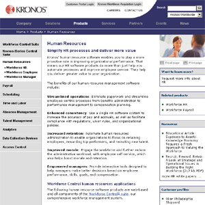 Kronos Human Resource Software