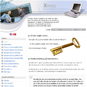 Online marketing -  Xway.dk - Searchengine optimization