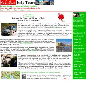 A La Carte Italy Tour