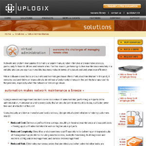 Computer Network Support at Uplogix