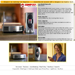 Alarm System - LaserShield