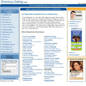 DirectoryofDating - Online Dating Sites