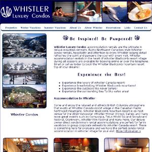 Whistler Ski Condo