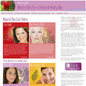 Natural Skin Care Balms