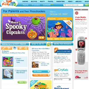 NickJr.com - Kids Activity & Party Planner for Preschoolers