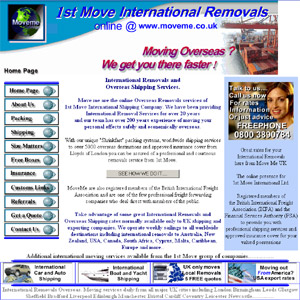 MoveMe International Overseas Removal Services