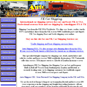 International Car Shipping - Overseas Car Import & Export