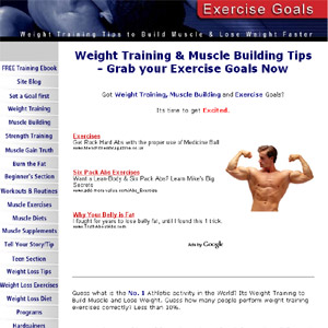 Weight Training & Lifting Exercises