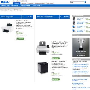 Printere hos Dell
