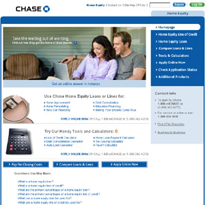 Home Equity Loans from Chase