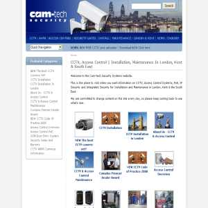 CCTV London - Camtech Security