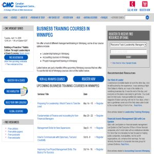 Accounting Courses Winnipeg