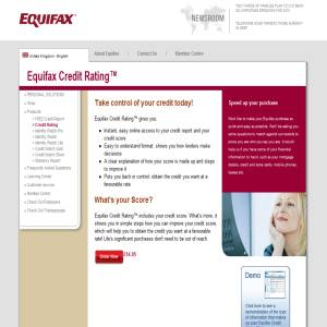 Equifax credit rating