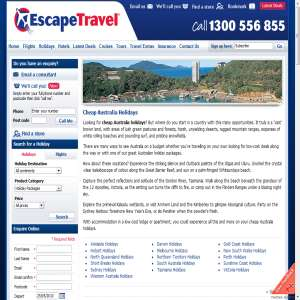 Australia Holidays - Escape Travel