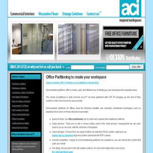 ACI Office Partitioning