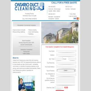 Mississauga Duct cleaning