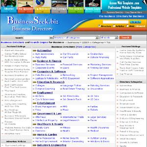 BusinessSeek biz Business Directory | Business | Directories