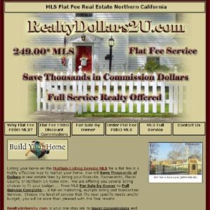 MLS Flat Fee Real Estate Northern California
