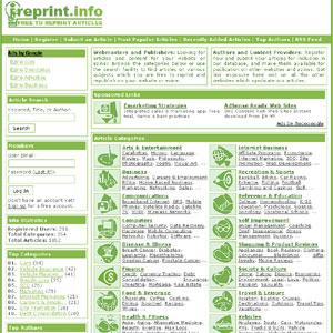 iReprint.info Free to Reprint Articles