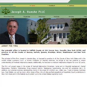 Joseph A. Hanshe PLLC - Medical malpractice lawyer in New York