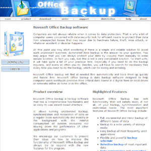 Office Backup - backup & restore software