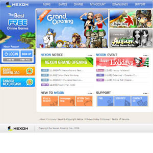Nexon - The best free online games